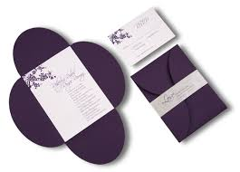 purple and silver wedding invitations wedding invitations