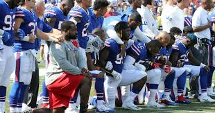 in the nfl what happens after the national anthem