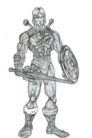 he man by croctopusart on deviantart