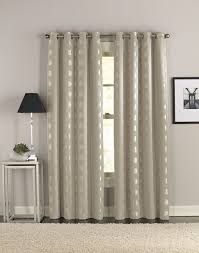 Modern Window Curtains by Cosmic Modern Grommet Curtain Panel Curtainworks Com