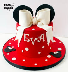 Red Minnie Mouse Cake Decorations 1802 Best Mickey N Minnie Cakes Images On Pinterest Cakes