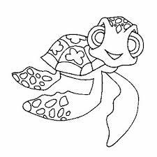 mini nemo sea turtle free coloring page download u0026 print online