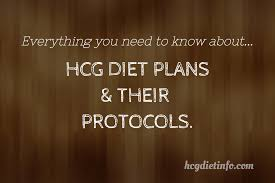 hcg diet plans and protocols hcg diet info