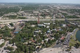 Sox Flags Over Texas Six Flags Over Texas Aerial Views