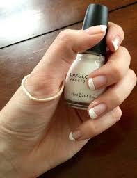 tutorial rubber band french tips nails for nickels