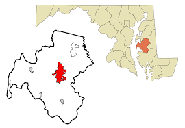 Hagerstown Md Zip Code Map by Easton Maryland Wikipedia