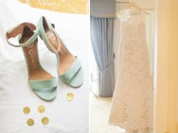 mint wedding shoes gold and mint wedding ideas