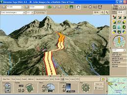 usa map gps topo usa 8 0 national edition