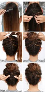 put your hair in a bun with braids 30 perfect messy bun hairstyles for long hair tutorials
