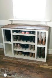 ottoman shoe storage ottoman bench diy best 25 diy shoe storage