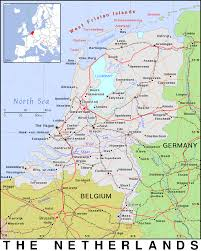 The Netherlands Map Nl The Netherlands Public Domain Maps By Pat The Free Open