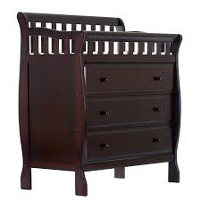 Espresso Changing Table On Me Changing Table And Dresser Espresso Walmart