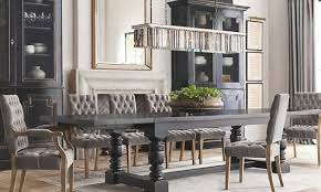 classic restoration hardware dining room tables