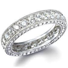 eternity ring ivana s antique style imitation diamond eternity ring