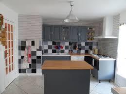cuisine ancienne repeinte cuisine repeinte en gris élégantcuisine repeinte en gris 2017 et