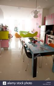 home of furniture designer karim rashid in new york this stock