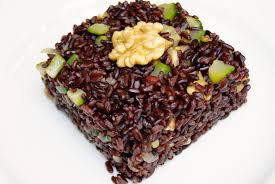 riz cuisine riz noir aux noix et courgettes la p tite cuisine de pauline