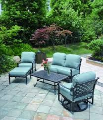 Patio Furniture Round Berkshire By Hanamint Luxury Cast Aluminum Patio Furniture Round