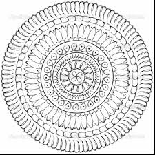 good printable mandala coloring pages adults with advanced mandala