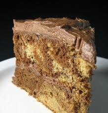 kitchen trial and error chocolate peanut butter marble cake