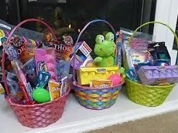 pre made easter baskets for toddlers easter basket fillers creative creations easter