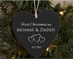 our first christmas as mommy u0026 daddy personalized christmas