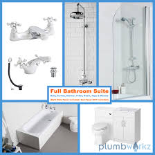 traditional bathroom suite shower package plumbworkz