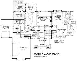 cottage style house plan 4 beds 3 50 baths 4534 sq ft plan 51 564