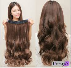 hair extension one clip in remy 100 human hair clip in hair