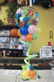 Table Top Balloon Centerpieces by Table Top Balloon Pacifier Balloon Arches U0026 Canopies Pinterest