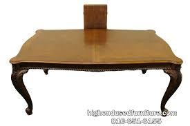 Pulaski Furniture Dining Room Set Pulaski Furniture 86 U2033 Chippendale Style Banded Mahogany Dining Table