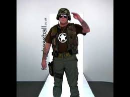 Army Soldier Halloween Costume Army Soldier Mens Fancy Dress Costume