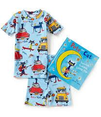 Pete The Cat Clothing Kids Boys Pajamas Little Boys U0027 2t 7 Pajamas Dillards Com