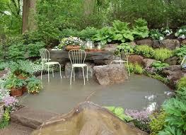 garden ideas around trees native garden design rock garden