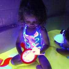 safe and edible glow water for baths and play i originally