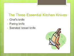 essential kitchen knives knife safety tips to keep you safe the kitchen ppt