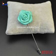 Mens Boutineer Mens Boutonniere Ribbon Rose Boutineer Lapel Flower For Wedding