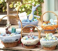 personalized easter basket liner easter baskets personalized house beautiful