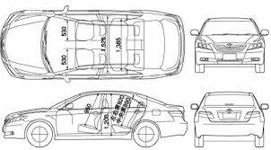2011 toyota camry dimensions toyota camry dimensions car models