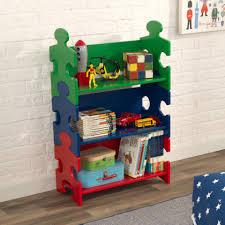 puzzle bookshelf primary