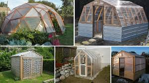 Home Greenhouse Plans | 10 easy diy free greenhouse plans home design garden