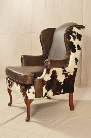 Leather Cowhide Fabric 1000 Ideas About Wing Chairs On Pinterest Armchairs Chairs And