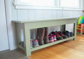 Diy Entryway Bench With Storage Bench Mudroom Bench Plans Inside Stunning Remodelaholic Diy
