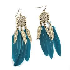 feather earrings feather earrings ethnic bohemian jewelry ushoptwo