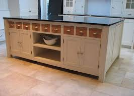 freestanding kitchen island unit modern free standing kitchen units black marble countertop