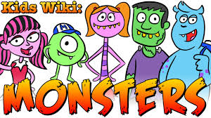 monster facts cool u0027s wiki for kids monsters youtube