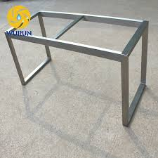 stainless steel table base competitive price free drawing stainless steel table bases for sale