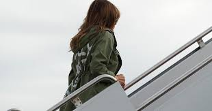 Florida Travel Jacket images Melania trump 39 s jacket today raised eyebrows with edgy message quot i jpg