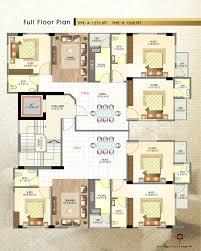 Tenement Floor Plan by Basic Builders Ltd Basic Haque Tower