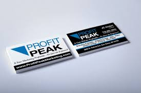 Business Card For Construction Company Print Design Archives Profit Peak Marketing In Eau Claire Wi